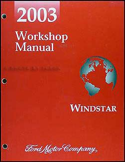 online car repair manuals free 2003 ford windstar parental controls 2003 ford windstar repair shop manual original