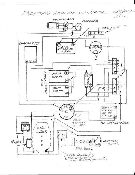 wiring diagram balmar 6 series alternator