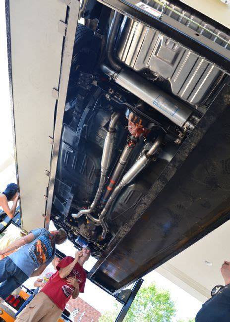 ford mustang undercarriagejpg  mustang source