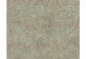 Tapete Grau Grün : as cr ation bohemian mustertapete tapete gl nzend vintage look klassisch braun gr n ~ Eleganceandgraceweddings.com Haus und Dekorationen
