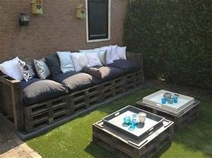39 outdoor pallet furniture ideas and diy projects for patio With homemade garden furniture ideas