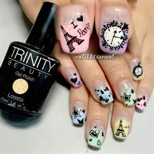 Nail art design read more new paris designs