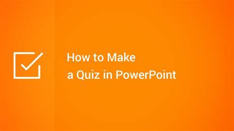 quiz  powerpoint youtube