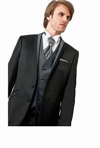 Costume 3 Pièces Gris : costume homme 3 pieces noir mariage toulouse ~ Dallasstarsshop.com Idées de Décoration