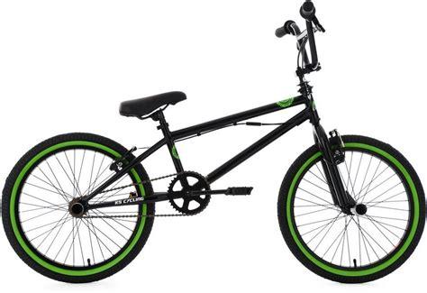bmx rad 20 zoll ks cycling bmx fahrrad 20 zoll schwarz gr 252 n 187 crxx 171 kaufen otto