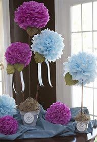 Cheap Bridal Shower Centerpieces