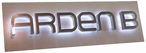 wholesale reverse channel letters signs halo backlit With backlit letters