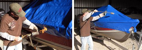Boat Shrink Wrap Pros And Cons by Tips On How To Shrink Wrapping A Boat In Winter Boat