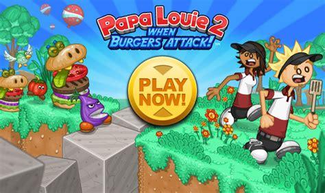 jeux de cuisine de papa louie jeux de papa louie burgeria