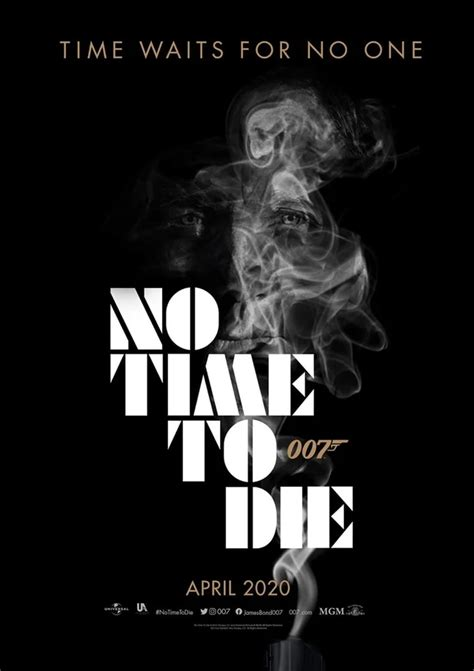 'No Time To Die' fan art poster : JamesBond in 2020 ...