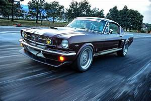 A Street/Track 1966 Ford Mustang Fastback with a Coyote ...