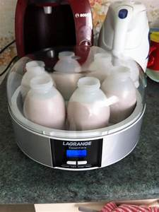 Yaourtiere Lagrange Recette : maman test yaourti re lagrange recette yaourt a boire ~ Nature-et-papiers.com Idées de Décoration