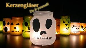 Halloween Dekoration Selber Machen : kerzengl ser diy halloween party deko selber machen basteln last minute tipps neu 2015 ~ Markanthonyermac.com Haus und Dekorationen