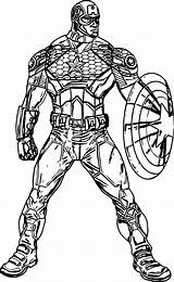 Coloring Pages Captain Guard Wecoloringpage sketch template