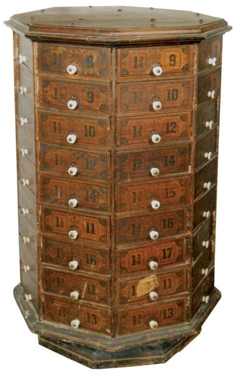 nut and bolt storage cabinets country store nut bolt cabinet octagonal 72 pie shap