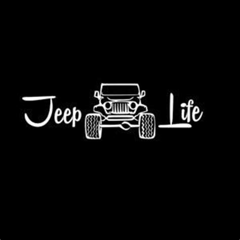 jeep beach decals jeep life vinyl decal products pinterest jeep life