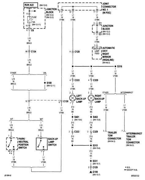 2014 Dodge Ram 1500 Back Up Wiring Diagram by I A 2002 Dodge Ram 1500 The Horn And Lights