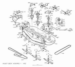 Dixon Ztr 5023  2003  Parts Diagram For Mower Deck 60 U0026quot