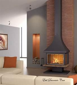 Cheminée Centrale Prix : cheminee avec insert prix ~ Premium-room.com Idées de Décoration