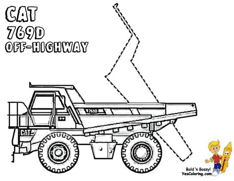 dirty dump truck coloring pages dump trucks  construction