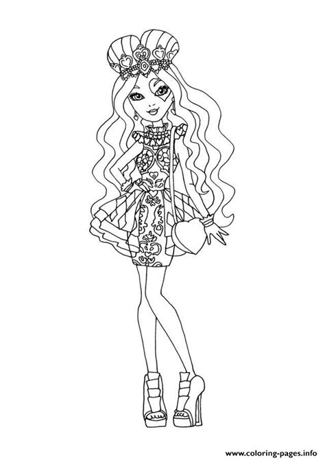 high dolls  coloring pages printable
