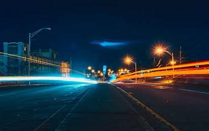 Night Street 4k Desktop Nature 2400