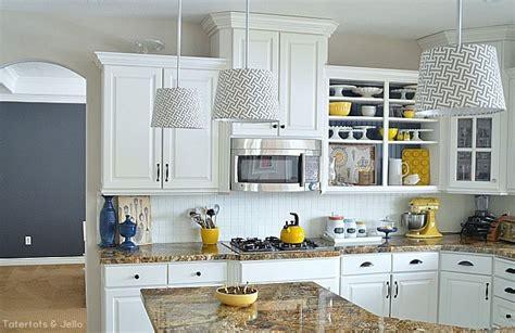 Create Kitchen Open Shelves