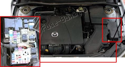 2003 Mazda 3 Fuse Box by Mazda 3 Bk 2003 2009