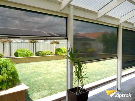outdoor blinds ziptrak