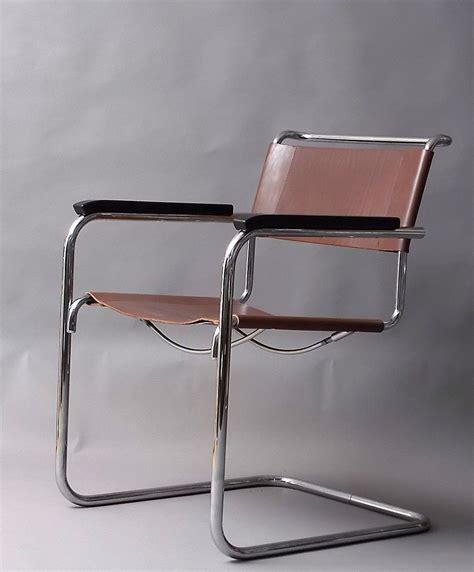 Stuhl Klassiker Bauhaus by Mart Stam Freischwinger S34 Thonet Stuhl Leder Bauhaus