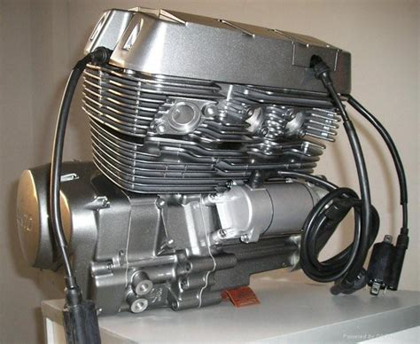 400cc Motorcycle Engine With 3 Cylinder