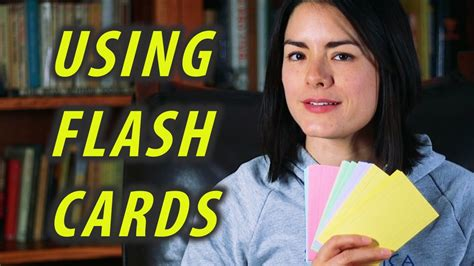 How To Use Flash Cards  How To Study  Flashcards Study Tips Youtube