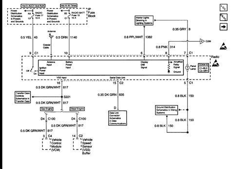 2003 Cadillac Escalade Wiring Diagram by Need Radio Wiring Diagram For 2000 Cadillac Escalade With