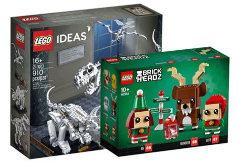 Sur le Shop LEGO : les nouveautés de novembre sont ...