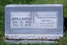 John Alvin Hansen (1878-1930) - Find A Grave Memorial