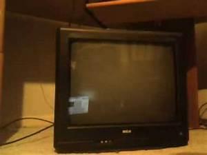 Tv Revisits  2008 Rca Truflat 20f424t Crt Tv
