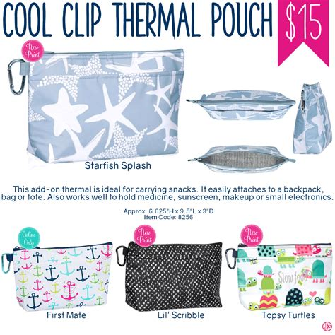 Cool Clip Thirty One Cool Clip Thermal Pouch Summer 2017