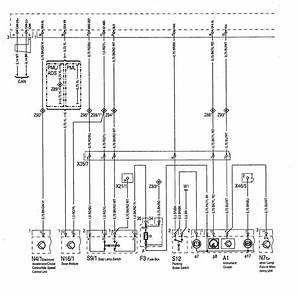 Mercedes-benz 500sel  1992  - Wiring Diagrams - Abs