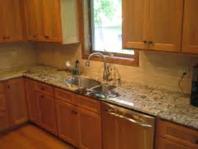 Kitchen Backsplashes With Granite Countertops Paramount Granite Add Some Flavor Spice To Your Kitchen With A Bianco Antico Granite