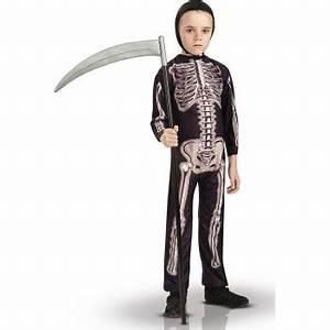 Deguisement Halloween Enfant Pas Cher : deguisement squelette halloween enfant garcon pas cher ~ Melissatoandfro.com Idées de Décoration