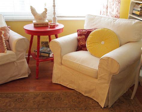 Ikea Ektorp White Slipcovered Chair