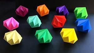 Basteln Mit Papierstreifen : diamant basteln mit papier diy geschenke selber machen ~ A.2002-acura-tl-radio.info Haus und Dekorationen