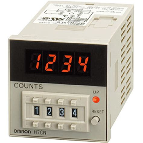 electronic counter hcn omron total counters time