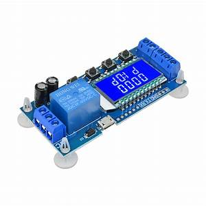 Dc5v Time Delay Relay Module Power Off Trigger Cycle Timer