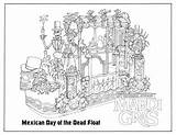 Gras Mardi Coloring Parade Pages Printable Universal Float Orlando Mexico Studios Sheets Jesters Ready Hollywood Behindthethrills Starting Saturday Sketch Dead sketch template
