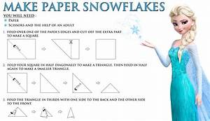 Make A Frozen Snowflake