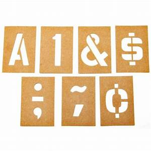 hy ko 47 piece 3 in numbers and letters stencil set st 3 With stencil sets numbers letters
