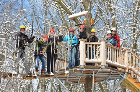 lake geneva canopy tours top things to do in winter in lake geneva visit lake geneva