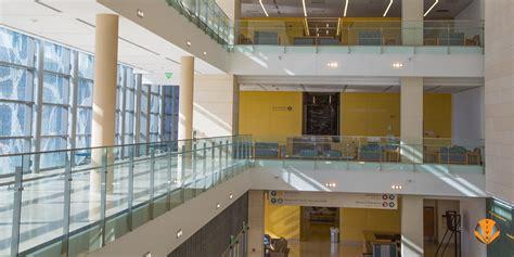 indoor balcony glass railing solo parkland health