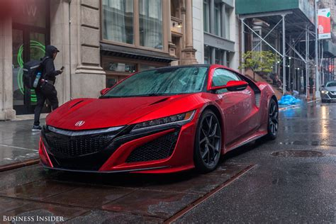 Car Usa News : The Acura Nsx Is Business Insider's 2016 Car Of The Year